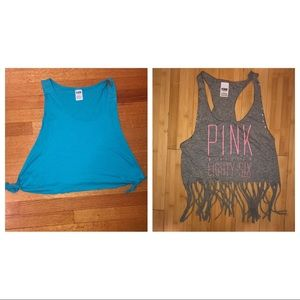 VS PINK CROP TO BUNDLE size Small
